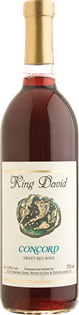 Carmel Concord King David 750ml - Case of 12
